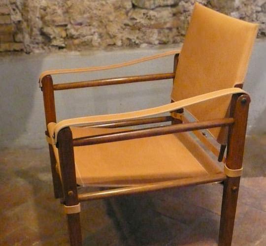 Restoring a field chair