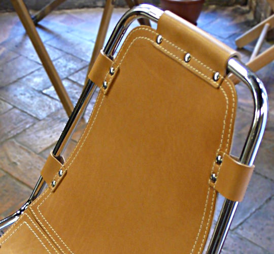 Restoring Charlotte Perriand chairs
