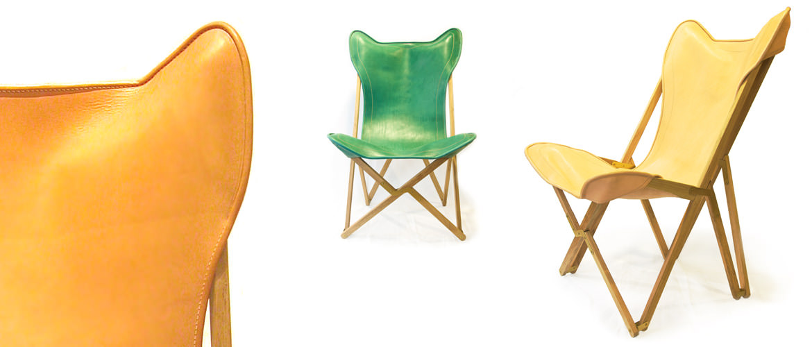 Beautiful leather chairs: Made to last